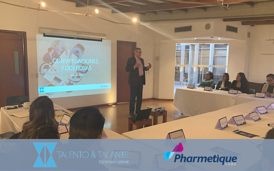 Capacitando líderes de Pharmetique